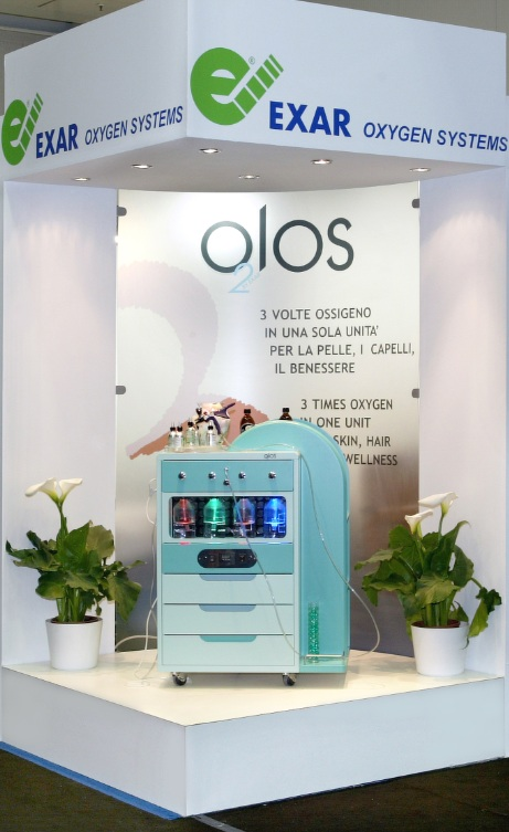o2los oxygen jet beauty equipment